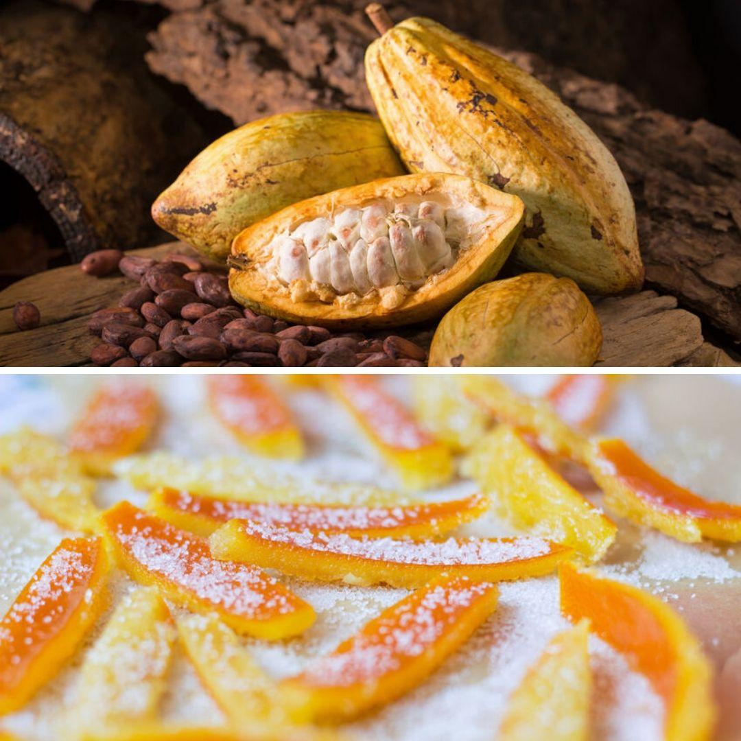 Cacao Bio Oranges Confites Bio