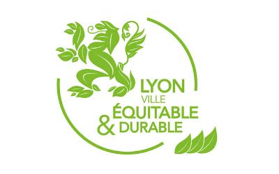 Logo Lyon Ville Equitable et Durable
