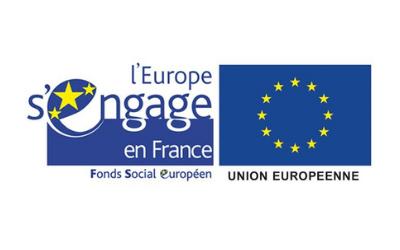 Logo L'Europe s'engage en France FSE