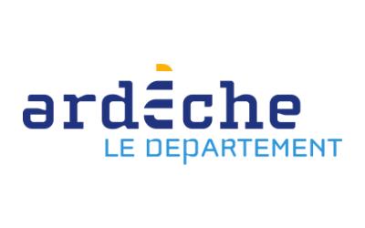 Logo ardèche le département